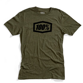 100% Essential T-Shirt Heren, fatigue
